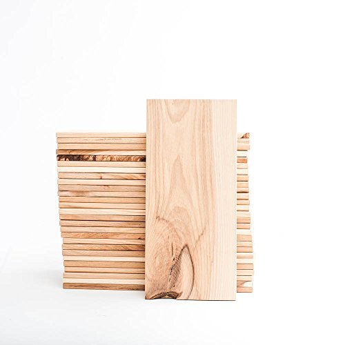 "Grilling Planks - Bulk - 30 Pack - 2-4 Servings (5""x11"") (Hickory)"