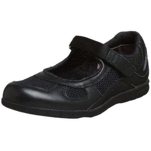 Drew Shoe Women's Delite Mary Jane,Black Calf/Mesh,7.5 N US