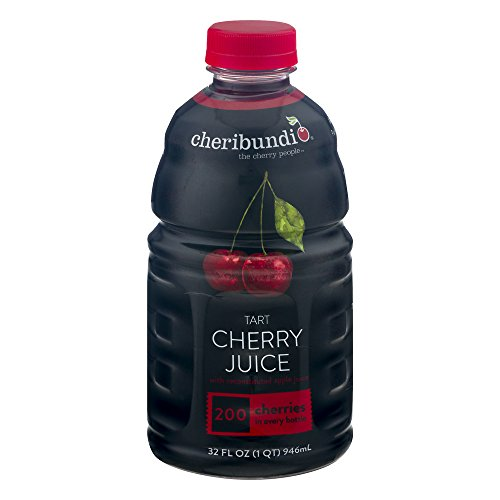 Cheribundi Tart Cherry Juice With Reconstituted Apple Juice, 32.0 FL OZ (Pack of 3)