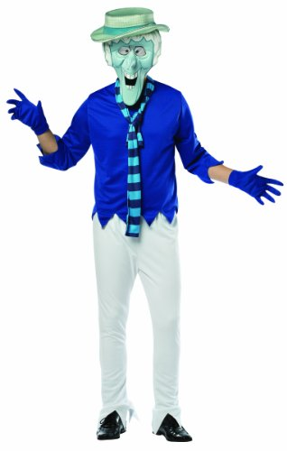 [Rasta Imposta Mr. Snow Miser Costume, Blue, One Size] (Heat Miser And Snow Miser Costumes)