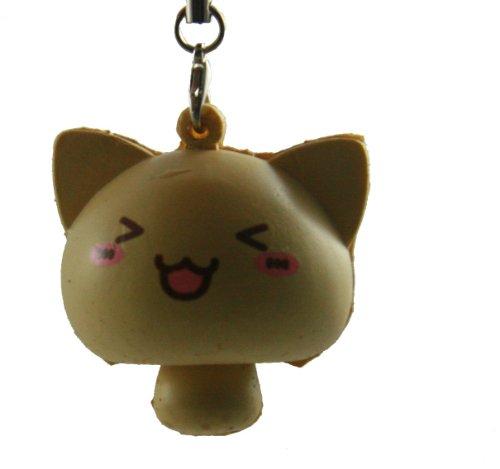 Cat Mushroom Squishy with Kawaii Winky Eye (Kawaii Mushroom)