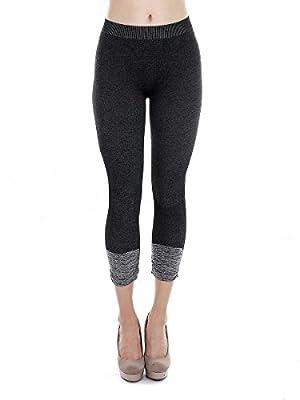 NIKIBIKI Premium Vintage Leggings - Super Soft - Capri & Full Length - Non See Thru - Made in USA
