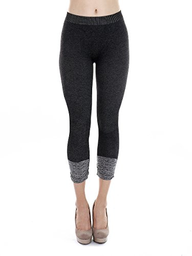 Nikibiki Premium Vintage Leggings - Super Soft - Capri & Full Length - Non See Thru - Made In USA