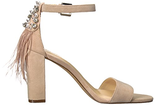 Nine Natural Suede Suede West Aaronita Sandal Women's 0X0R7r