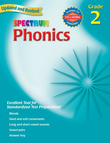 Spectrum Phonics, Grade 2 ()