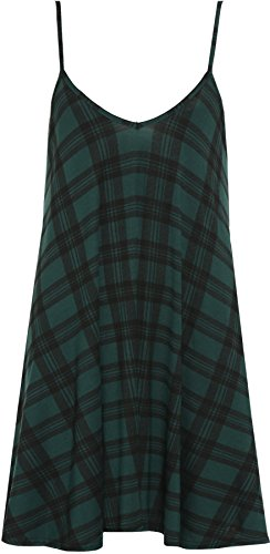 Strappy Womens Top vestito mini maniche Stampato donna da senza nbsp; Size Gilet Plus q5PtOSq