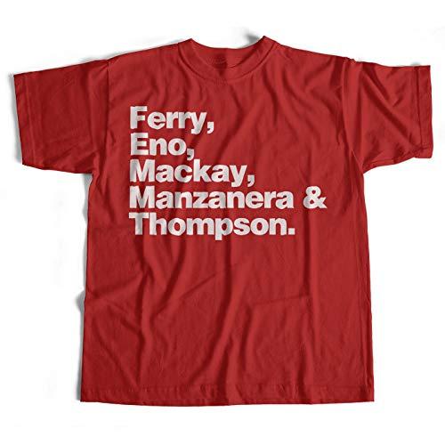 Roxy Names T Shirt An Old Skool Hooligans Classic Rock Names Tee-red-xl