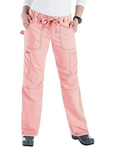koi 701T Women's Lindsey Tall Scrub Pant (Blush, Small Tall ) by KOI