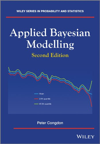 Applied Bayesian Modelling (Wiley Series in Probability and Statistics), 2/e-cover