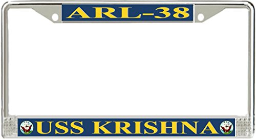MilitaryBest USS Krishna ARL-38 License Plate Frame