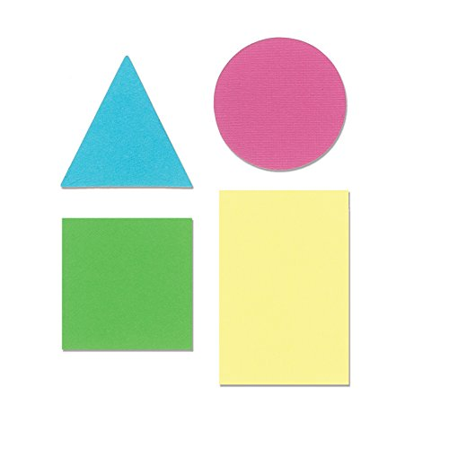 Ellison Circle, Rectangle, Square, & Triangle Sure Cut Die, Large