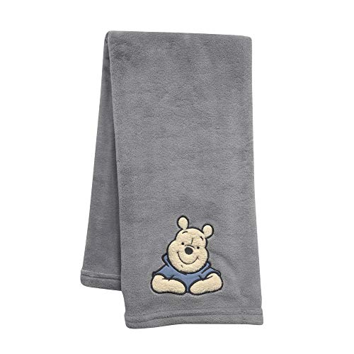 Lambs & Ivy Forever Pooh Baby Blanket]()