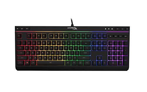 HyperX Alloy HX-KB5ME2-US Core RGB Membrane Gaming Keyboard (Black)