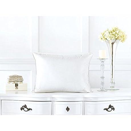 Alexander Comforts Cambridge Medium Firm White Goose Down Pillow Standard