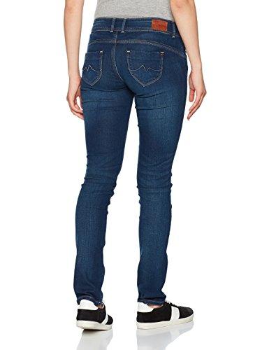 Donna Slim Pepe Jeans Jeans Denim Blu tq6tRwUE