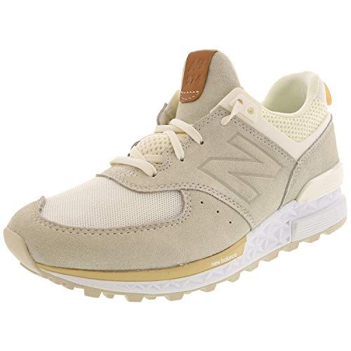 New Balance Women's 574v1 Fresh Foam Sneaker, sea Salt, 9.5 B - Sneakers Leather Mesh