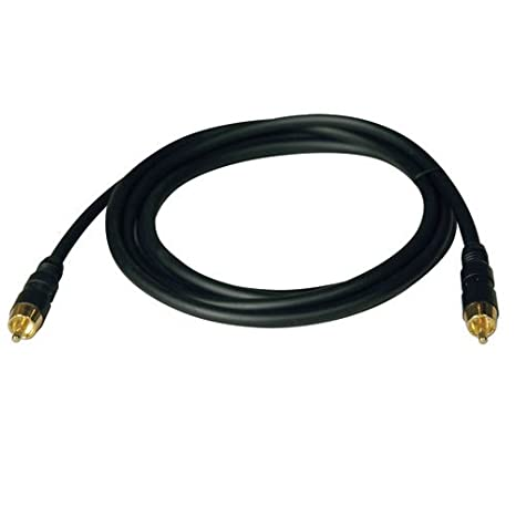 Tripp Lite RF Digital Coax Gold Audio Cable (RCA M/M) 12-