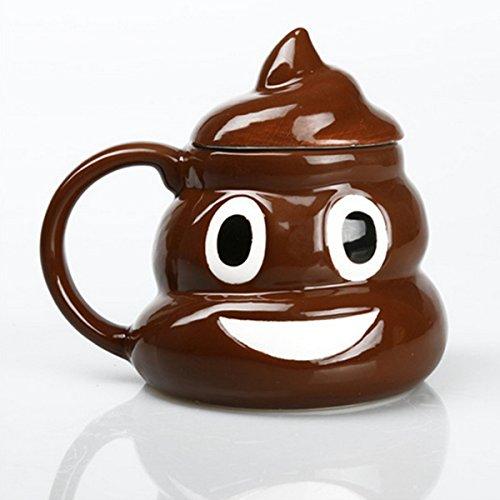 ABOGALE Coffee Emoji Poop Ceramic product image
