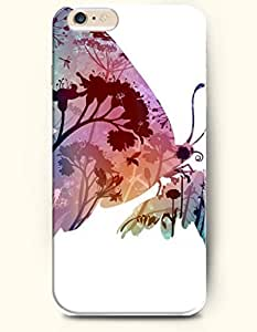 SevenArc New Apple iPhone 6 ( 4.7 Inches) Hard Case Cover - Tree Butterfly by supermalls