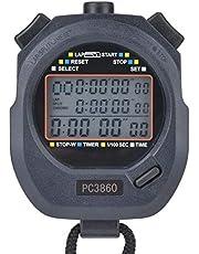Tbest Cronómetro Digital Deportivo, cronómetro Deportivo 3860 cronómetro electrónico de Atletismo cronómetro