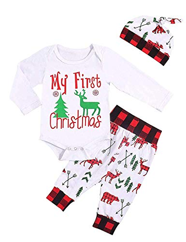Boys Christmas Clothing - Baby Boy Girl My First Christmas