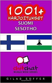 1001+ harjoitukset suomi - sesotho