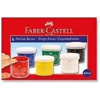 Faber-Castell 5170160402 Parmak Boyası, 6 Renk