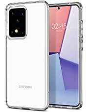 SPIGEN [Liquid Crystal] Galaxy S20 ULTRA Case Cover with Transparent and Flexible TPU Compatible with Samsung S20 ULTRA (2020) - Crystal Clear