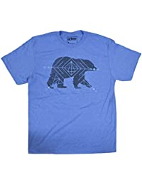 Astro Bear Graphic Shirt Light Blue