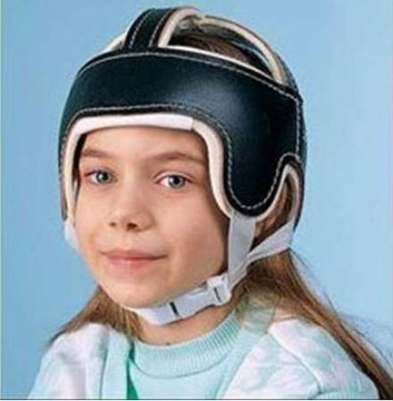 Helmet Brown - Item Number 920234EA by Patterson Medical Supply