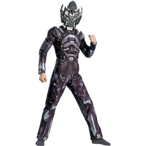 Transformers 3 Costumes (Transformers Movie - Ironhide Muscle Child Costume Size 10-12 Large)