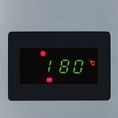 Severin MW 7868 - Microondas con grill y convección, 900 W, 25 L, 10 programas automáticos, acero inoxidable, color plata y negro: Amazon.es: Hogar