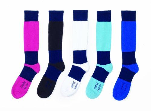 Ovation Women's Coolmax Schooling Socks Black 9-11 US