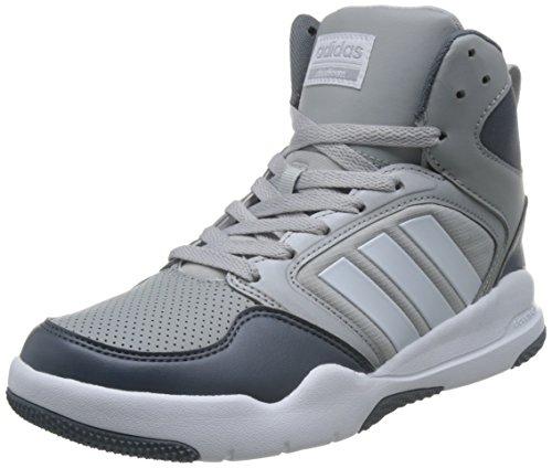 Mid Adidas Cloudfoam Rebobinar W Damen Tênis De Basquete, Blau - (onicla / Ftwbla / Plamat) 36 2/3