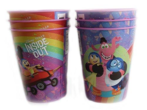 Disney Pixar Reusable Treat Favor Party Cups (Inside Out) ()