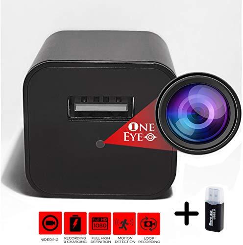 🥇 1 EYE Products – Cargador de cámara USB Oculta