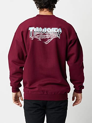 Thrasher Racing Crewneck Sweatshirt SM Maroon