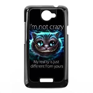 Exquisite stylish phone protection shell HTC One X Cell phone case for lovely Cheshire Cat pattern personality design