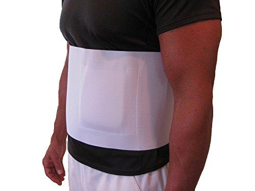 Hernia Belt - Umbilical Navel Hernia - 8''-Wide - 2XL by FlexaMed