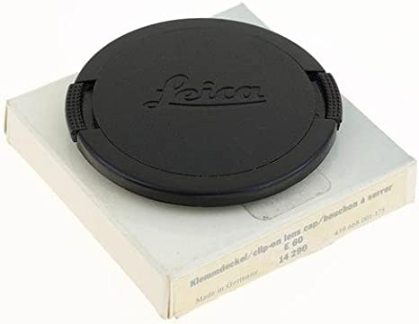 14290 Leica E60 Snap-On Lens Cap for R and M Series Lens 60 mm