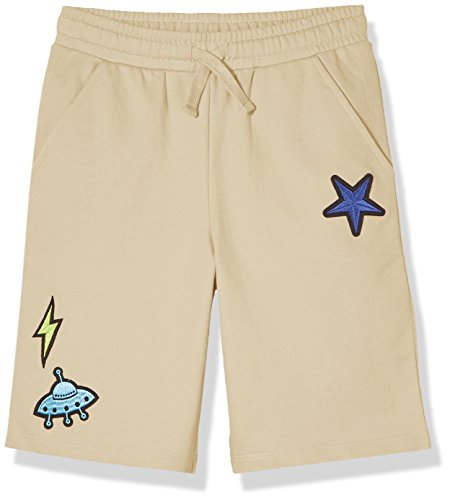 Tan Boys Shorts (A for Awesome Boys French Terry Shorts Small Sandy Tan)