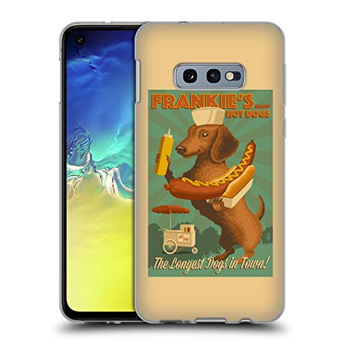 Official Lantern Press Frankie's Dog Collection Soft Gel Case for Samsung Galaxy S10e