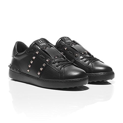 Valentino Baskets Mode Pour Homme Noir Noir SojHBjuGG