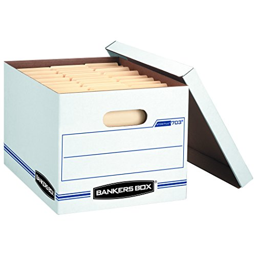 Bankers Box Stor File Storage Boxes Standard Set Up Lift