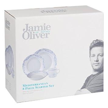 Jamie Oliver Geschirrservice, Starter-Set, 8-teilig: Amazon.de ...