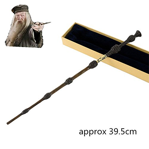 [Metal Core Newest Quality Deluxe Harry Potter COS Albus Dumbledore Magic Wands/Stick with Gift Box] (0-3 Months Baby Halloween Costumes Uk)