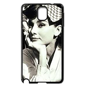 AUDREY HEPBURN Personalized Case for Samsung Galaxy Note 3 N9000, Customized AUDREY HEPBURN Case