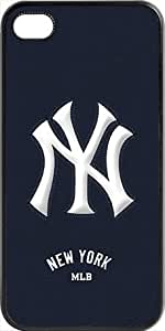 MLB Team Logo, New York Yankees Team Logo Case For Iphone 5/5S Cover (BlacYankees 1