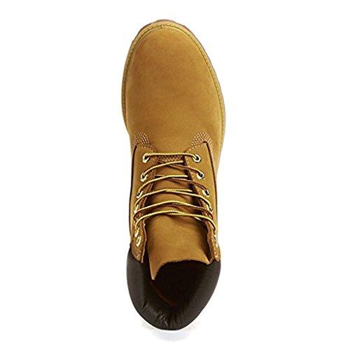Timberland Men's 6″ Premium Waterproof Boot (9.5 D(M) US, Original Wheat)
