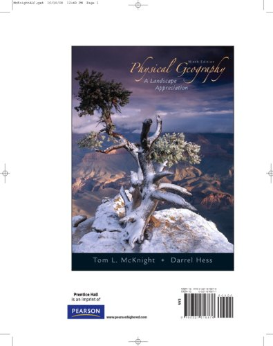 Physical Geography: A Landscape Appreciation, 9th Edition